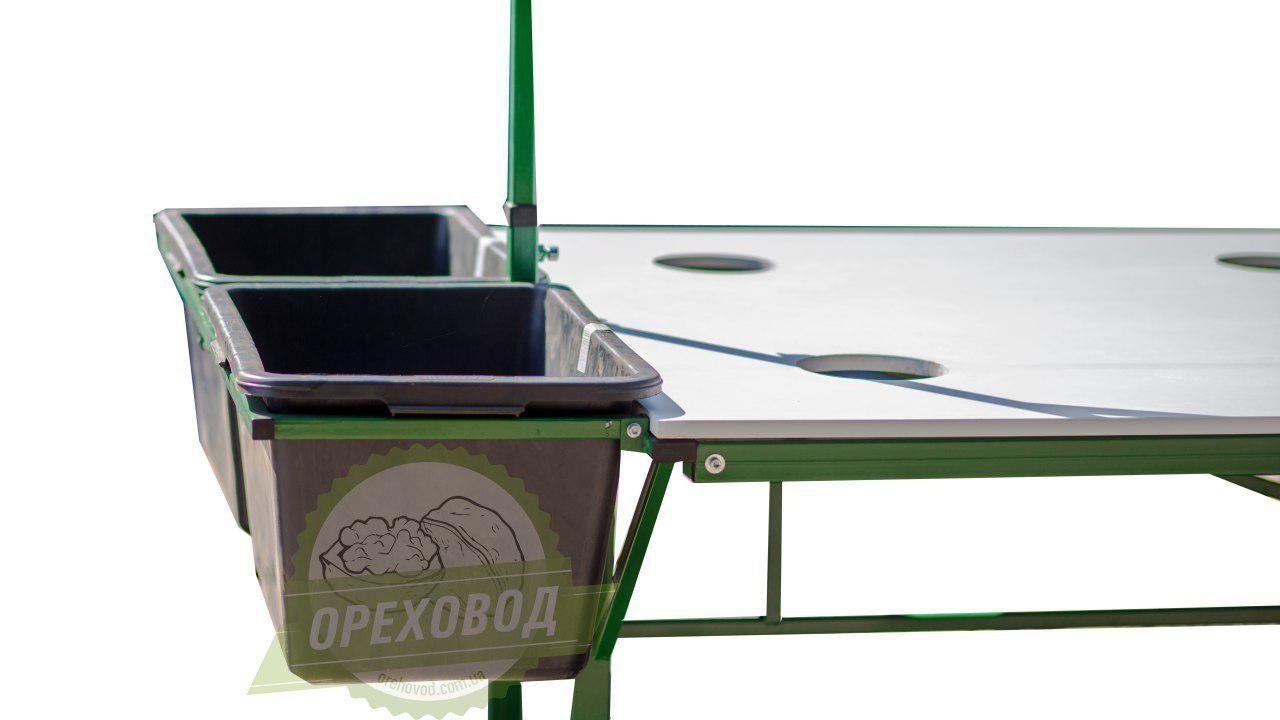 Стол для переборки грецкого ореха - 5