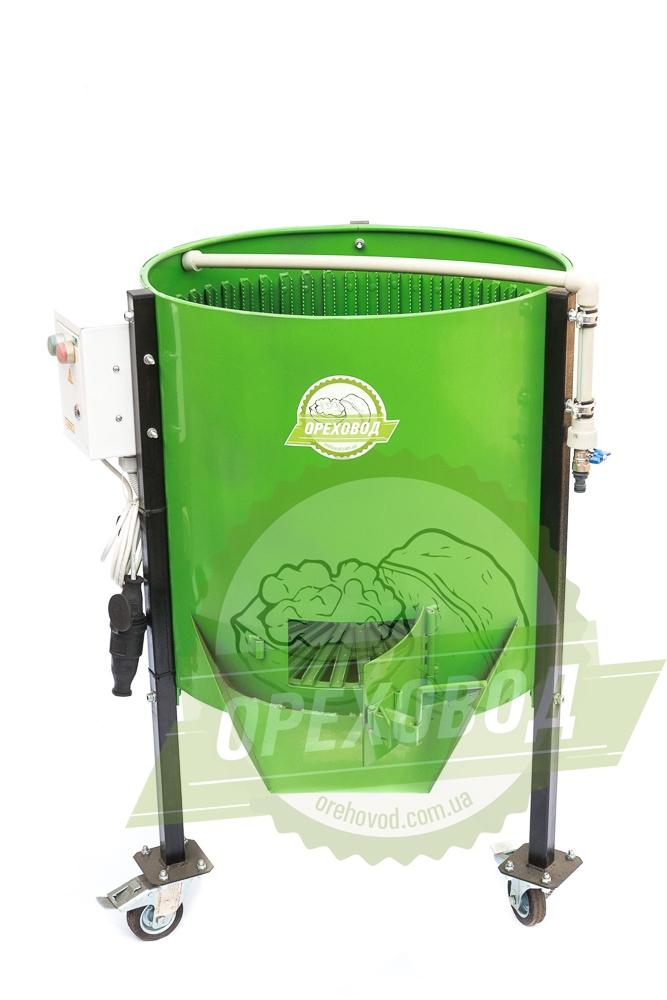 Очиститель грецкого ореха от зеленой кожуры (500 кг/ч) - 1