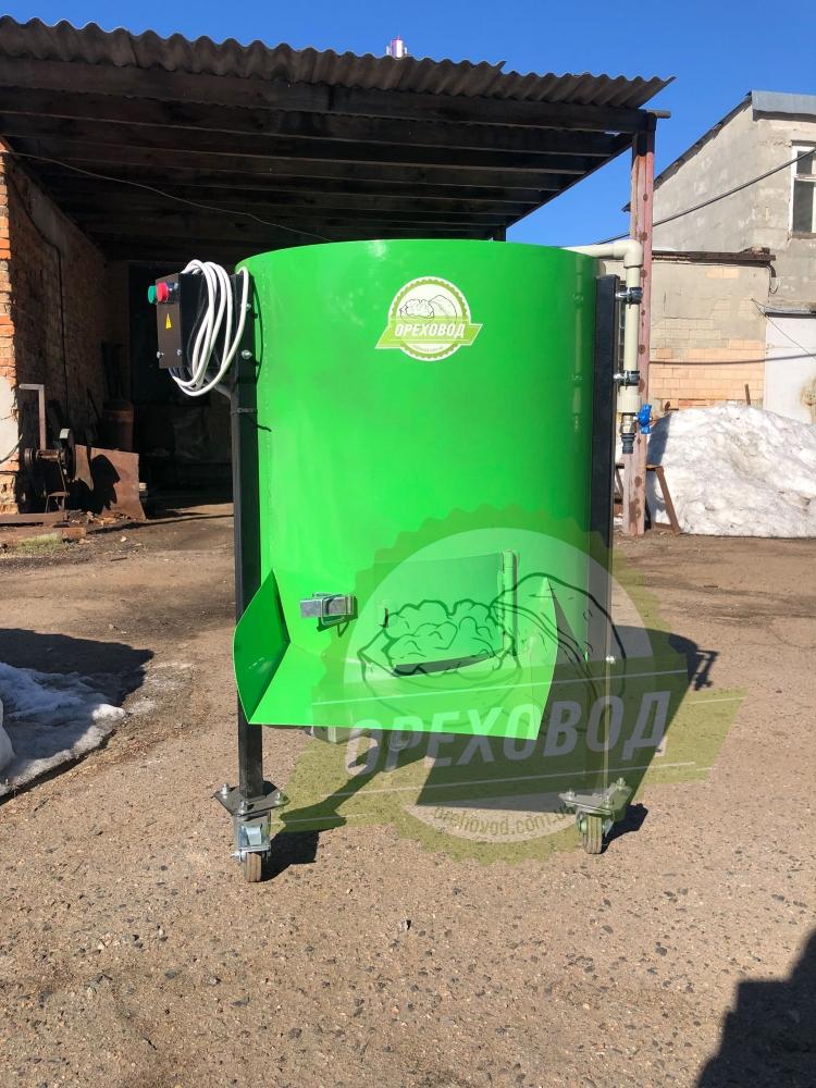 Очиститель грецкого ореха от зеленой кожуры (500 кг/ч) - 8