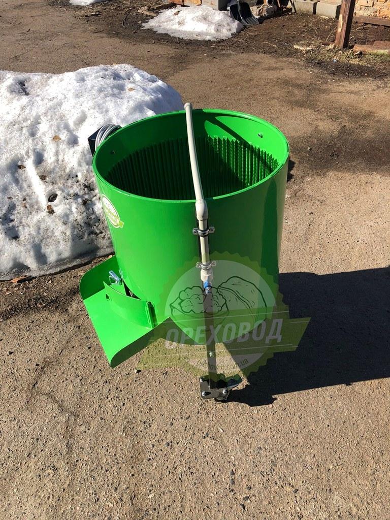 Очиститель грецкого ореха от зеленой кожуры (500 кг/ч) - 6