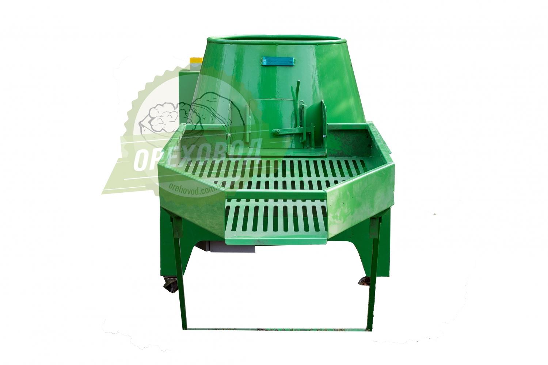 Промышленная мойка для очистки ореха от зеленой кожуры (1000 кг/ч) - 2