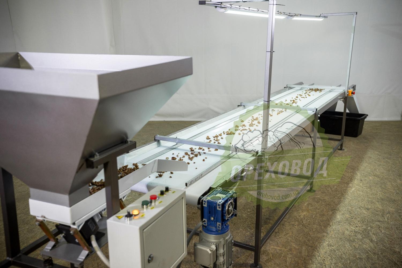 Инспекционный стол для сортировки грецкого ореха - 1