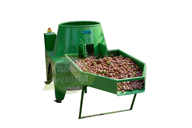 Промышленная мойка для очистки ореха от зеленой кожуры (1000 кг/ч) - 5