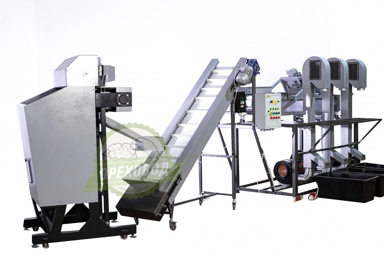 Большая промышленная линия по переработке грецкого ореха - 2